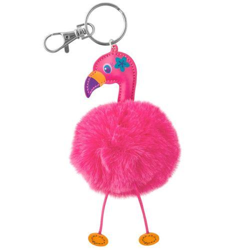 Chaveiro-POMPOM-Flamingo