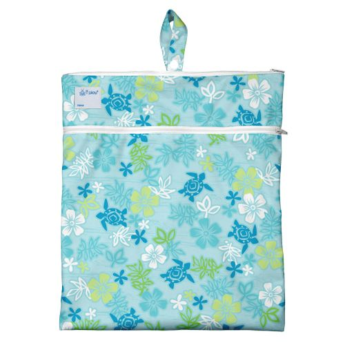 319252-612-Waterproof-Travel-Wet-Bag-Aqua-Hawaiian-Turtle-HAVAI-AQUA
