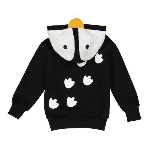 Blusa-de-Moletom-Infantil-Infantil-Pinguim-3D-Doodle-Pants-Costas