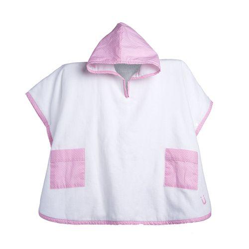 9---Roupao-Infantil-com-Touca-Poa-Rosa