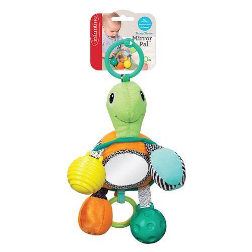 Brinquedo-Interativo-de-pendurar-Infantino-tartaruga-com-espelho-1