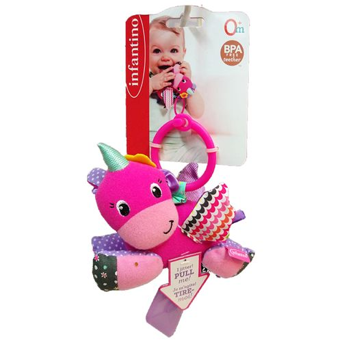 Brinquedo-Interativo-de-pendurar-Infantino-Unicornio-1
