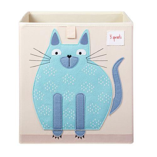 Cesto-Organizador-Quadrado-3-Sprouts-Gato