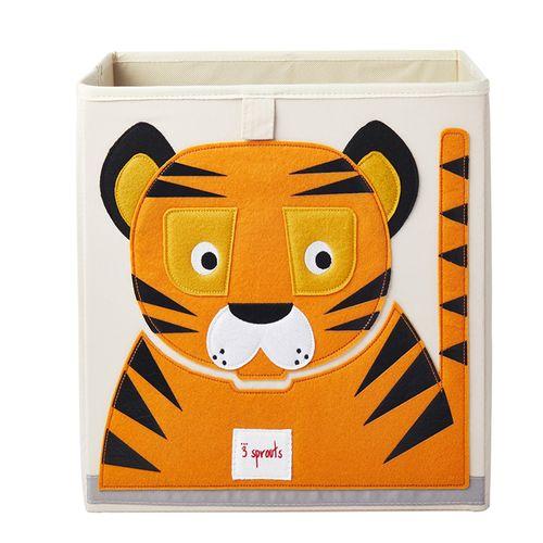 Cesto-Organizador-3-Sprouts-Quadrado-Tigre