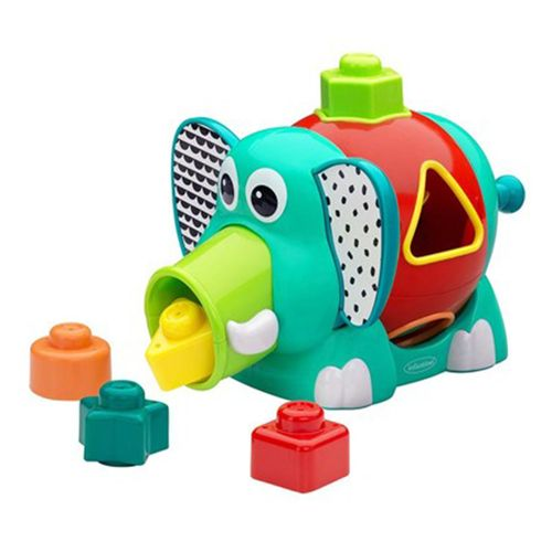 Brinquedo-Interativo-de-encaixe-Infantino-Elefante-1