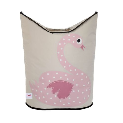 LHSWN_3Sprouts_Laundry_Hamper_Swan_1