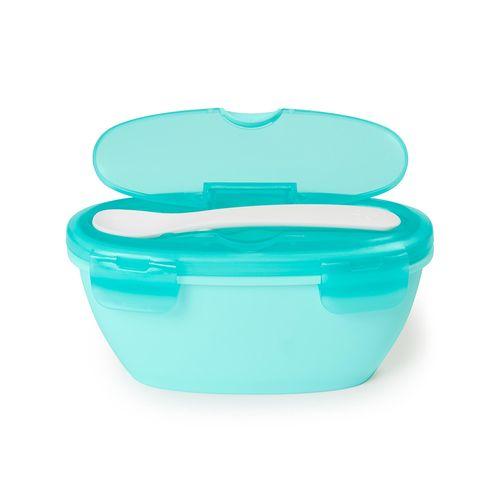 Kit-Alimentacao-Bowl-e-Colher-Azul-Easy-Serve-2