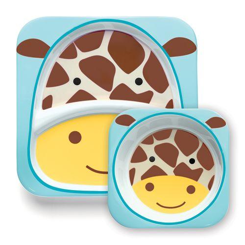 Set-de-Pratos-Zoo-Skip-Hop-Girafa
