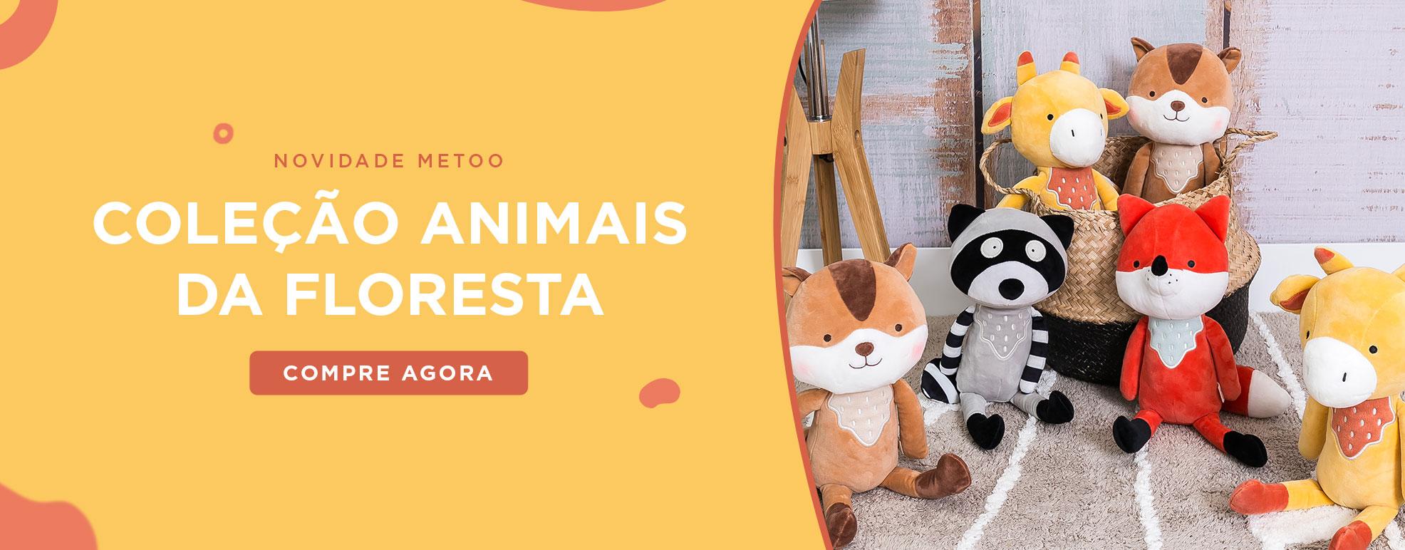 Banner Animais da Floresta